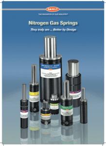 Danly nitrogen gas springs