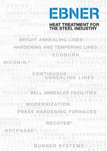 EBNER steel industry