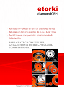 Etorki diamondCBN catalogo