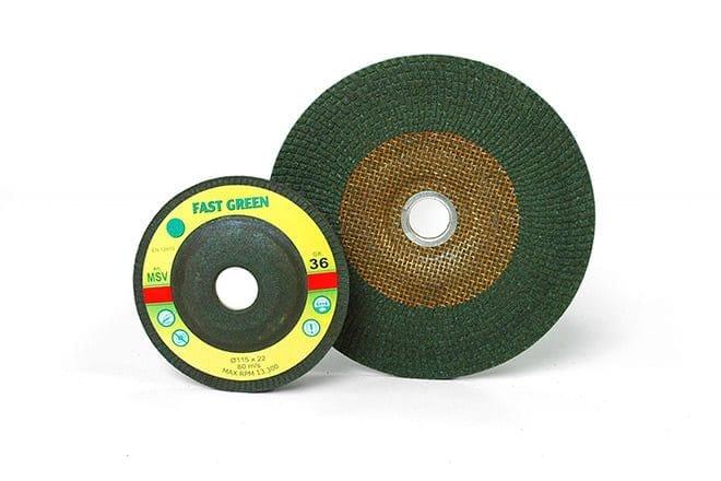 FAST green discs