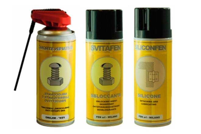 Lubricants, sealants, degreasers, and hand washers